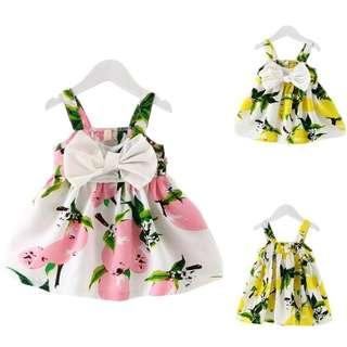 [PRE-ORDER] Toddler Infant Kids Baby Girls Summer Dress Princess