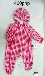 Infant Jumpsuit Hoodie