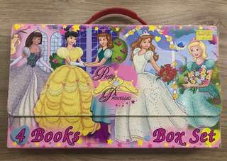 Pretty princesses 4 books set