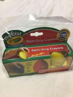 Crayola Palm-Grip crayons