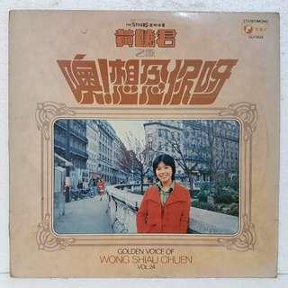 黄晓君之歌 - 噢! 想念你呀  Vol 24  Vinyl Record