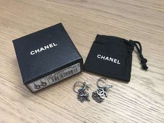 Chanel chain earrings 吊鏈耳環