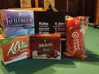 K slimming | Glutagen | Kranz berry