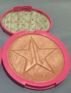 Jeffree Star peach goddess highlighter