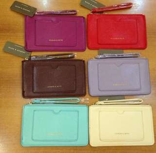 AUTHENTIC CHARLES AND KEITH POUCH WITH POCKET