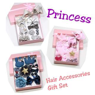10pcs Princess Girl Hair Accessories Gift Set