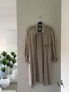 ZARA Light Trench Coat