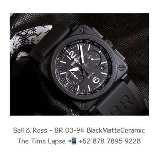 Bell & Ross - BR 03-94 Black Matte Ceramic