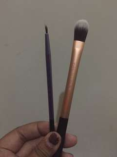 rt real technique brush foundation and eyeliner kuas makeup make up