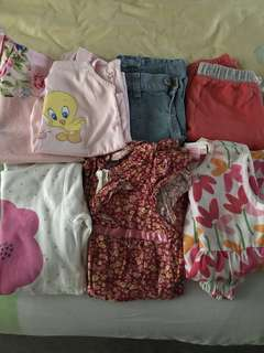 Baby Girl Clothes Bundle Set