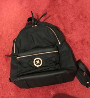 Mimco backpack rosegold
