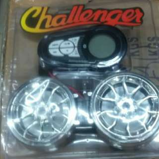 Challenger motorcycle bluetooth player with speaker for rusi mio amore fino racal xrm rouser gixxer honda wave dash beat skydrive rks sym raider sniper mx suzuki smash