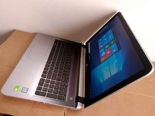 "Gaming / Editing - 15.6"" HP Intel Core i7 Laptop - 8GB RAM - 6GB Total NVIDIA GT-940M - 1 TB HDD"