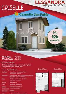 House and Lot Camella Homes San pablo laguna