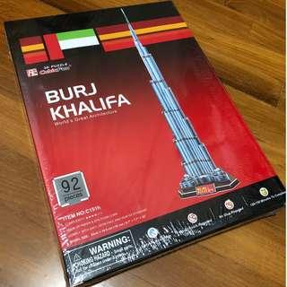 3D Puzzle CubicFun C151H Burj Khalifa