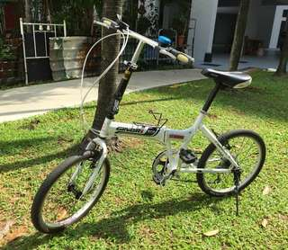 "Ginori GFD 20"" foldable bike"