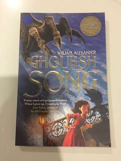 ghoulish song and kingdom keepers books