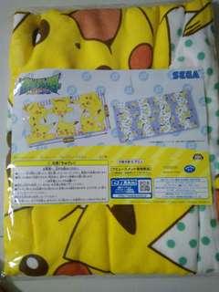(incl nm) Pikachu pokemon towel