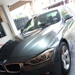 3 Series BMW For Rent with driver