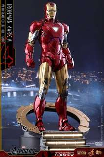 Hot toys iron man mark 6 special edition