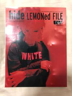 hide / LEMONed FILE with Spread Beaver (SONY MAGAZINES ANNEX)