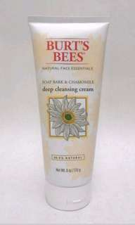 Burt's Bees Soap Bark & Chamomile Deep Cleansing Cream