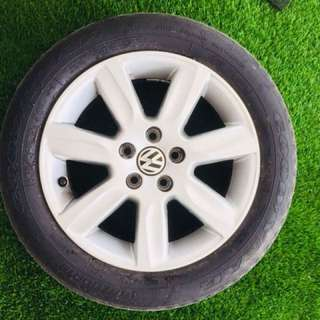 VW Sport Rims with tyre