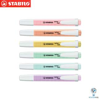 Stabilo Schwan Swing Cool Pocket Highlighter | Pastel Colour Set [WS-SSS-275-PASTEL(6PCS/SET)]