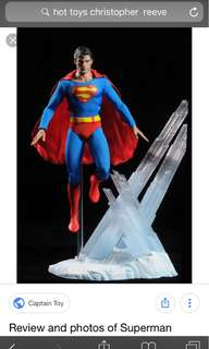 Hot toys superman Christopher reeves