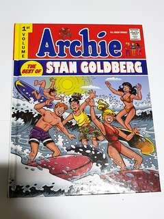 ARCHIE BEST OF STAN GOLDBERG VOL 1 HARDCOVER EDITION