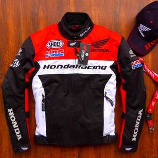 Honda Racing Jacket w Paddings - REP LICA