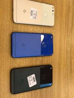Google Pixel rush 3pcs only good as new no issues