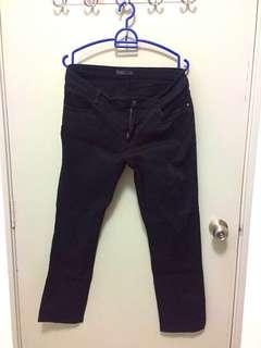 Voir Exchange Black Straight Cut Jeans