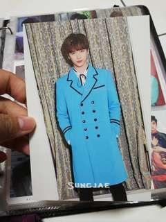 BTOB SUNGJAE MOVIE JAPANESE PRESS SPECIAL EDITION POSTCARD