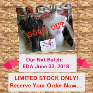 RESERVE YOUR ORDER NOW... LIMITED STOCKS WILL ARRIVE SOON...