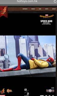 Hot toys Spider man homecoming deluxe