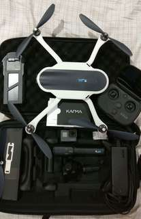 KARMA DRONE with GoPro Hero 5 (Slightly Negotiable)