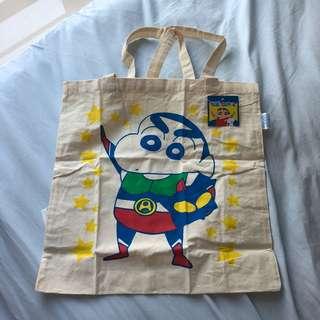 全新日本小新超人tote bag環保袋