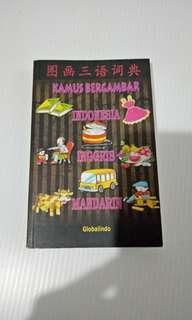 Kamus bergambar Inggris Mandarin