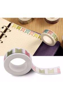 1pc DIY Self Adhesive Washi Tape or Masking Tape for Decoration Scrapbooking Planner