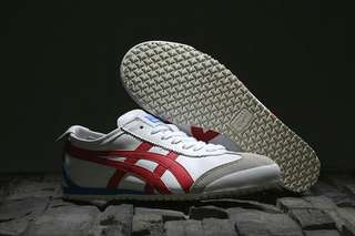 Authentic Onitsuka Tiger  Mexico 66  White/ Red/ Blue X