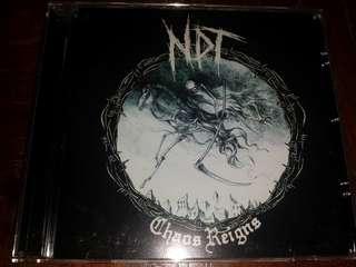 Music CD: Nuclear Death Terror–Chaos Reigns - Hardcore / Crust Punk