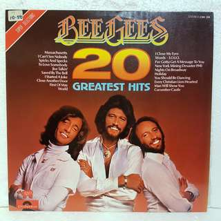 On Hold: Bee Gees - 20 Greatest Hits Vinyl Record