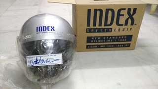 [Clearance] INDEX sport helmet (Silver)