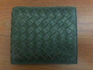 Bottega Veneta Fern Intrecciato VN Wallet (Men)