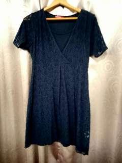 Mamaway哺乳洋裝(深藍色)