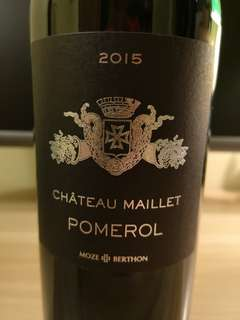 Chateau Maillet 2015 (Pomerol)