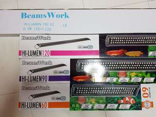HI lumen BEAMSWORK 5ft & 6ft at ATTRACTIVE PRICING!! Fish Tank led light!! SUPER BRIGHT !!! c/w 6months warranty!!!
