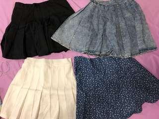 Korean Style Skirts
