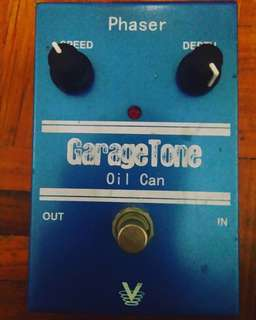 TrueTone Visual Sound GarageTone Oil Can Phaser